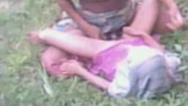 Indian porn vid of a village girl in jungle