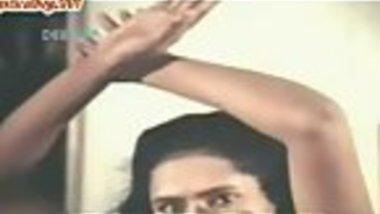 Desi husband painting on sexy mallu wife