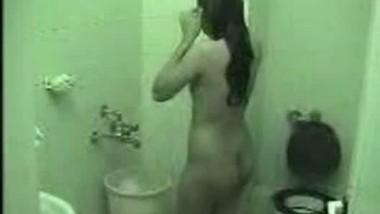 sarika enjoying bath after sex