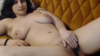 Nri girl masturbates on cam for boyfriend