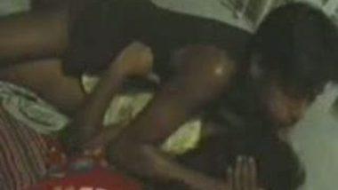Mallu slim college hostel hard fucked by kitchen boy