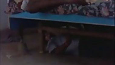 girl having sex while another lover under bed