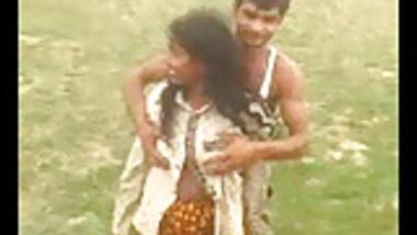 Desi Indian Big Boob aunty captured outdoor part 4