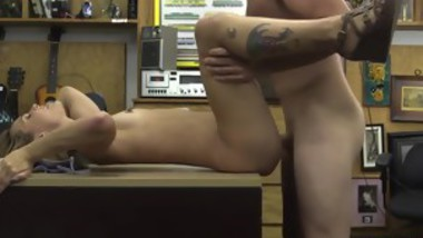 Crazy brunette squirt and sloppy seconds handjob Cashing in!