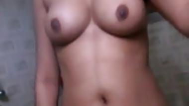 Bangladesi Hindu girl self shoot