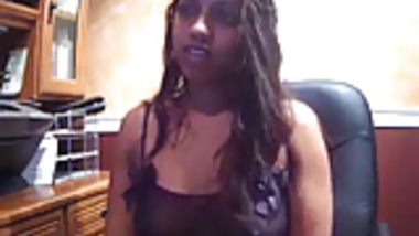 Indian Girl on Webcam