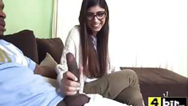 FULL Mia Khalifa Sex video -- enormous black penis