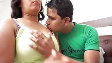 Indian gorgeous Aunty Tempting man