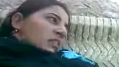Punjabi bhabhi outdoor sex video of a hot housewife.