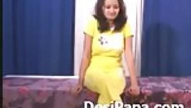 Indian Teen Sanjana Solo