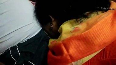 Fresh MMS clip of a bhabhi sucking her devar's tool