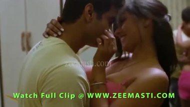 Desi Girl In Bikini Romancing Her Boyfrined