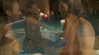 He Massages Her Tight Ass