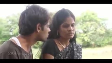 Sexy Indian wife cheating in an outdoor place