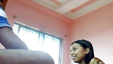 My Indian Step Sister Sucks My Cock In Parents' Bedroom