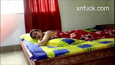 Desi hot college girl romancing with her boyfriend
