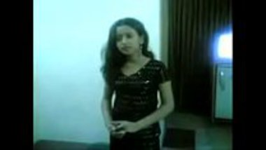 Cute and sexy Bengali girl stripping for her client