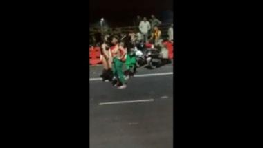 Hot MMS Of Naked Girls In Delhi Road
