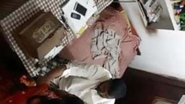 Tamil aunty boob press by boss in office hidden cam