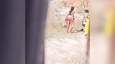 Indian Desi aunty pissing hidden spy camera part-1