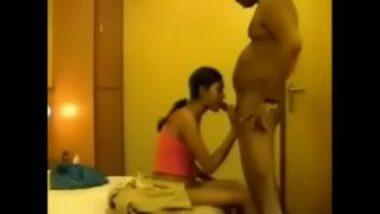 Indian College Virgin Girl First Blowjob Clip