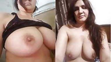 Indian desi sexy bhabhi record her nude selfie part 1