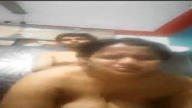 Big tits desi mom teaching sex to sons friend