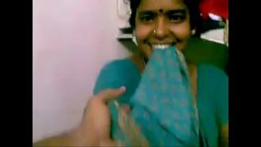 Playing With Boobs Of Sexy Tamil Aunty