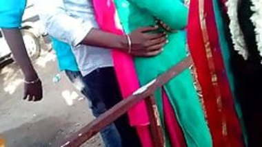Madurai hot tamil girl enjoying dicking and boobs touch