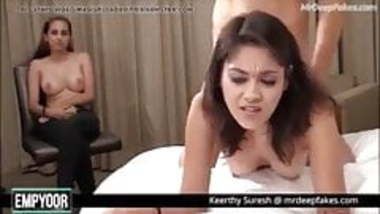 Indian Actress Keerthy Suresh fucked hard by Fan