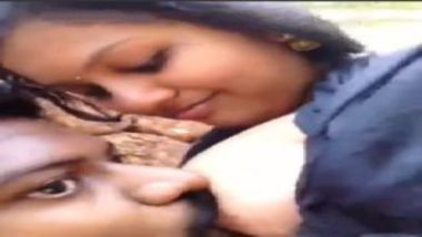 Kissing and sucking desi milky boobs
