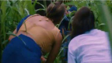 Horny indian girls watching outdoor sex