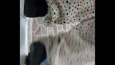 Beautiful Indian maid Spy cam