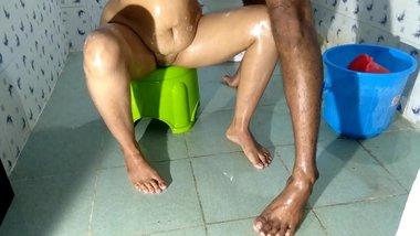 Sluty Indian Wife Fucked By Devar In Bathroom Sex