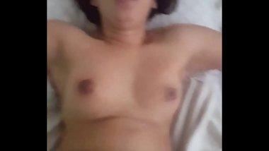 Sexy Indian smile while she takes my bbc follow me on ig fatzchargedup7474