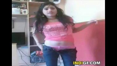 Indian Teen Stripping