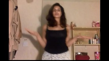 Solo of natural cute Indian teen Mira