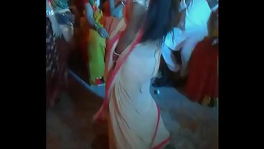 Mou Sexy Dance on Cousin's Wedding. Village Shelaidaha - Rabindranath Tagore Kuthibari