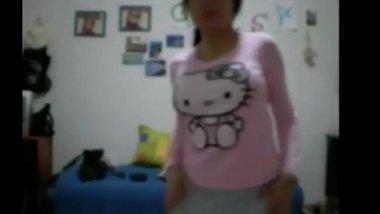 My Girlfriend Showing Boobs, Indian College Girl WebCam