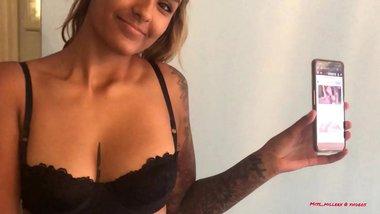 Inked Indian girl - miss Miller - Verification video