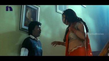 Lakshmi Rai In Red Saree Lawrence And Lakshmi Rai Romantic Kanchana Movie Scenes