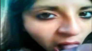 Indore desi girl neha hot blowjob video