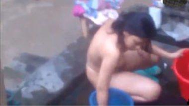 Hot indian village girl nude bath video