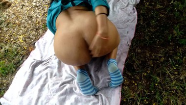 Outdoor Risky Public Sex Sister In law Fucked Hard In Forest