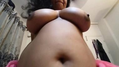 Karisma S6E9 - Big Titty Indian Bhabhi Wakes up and gets Anal (POV) and cumshot