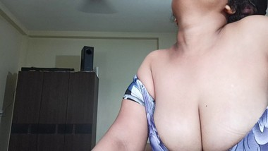 Karisma S6E3 Busty Indian Bhabhi Rides, Jumps & Fucks near Window and Makes Him Cum Silly Quick