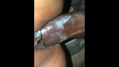 Hot Indian girl cums on BBC. CREAMPIE