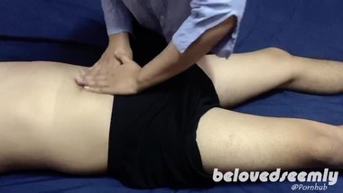 Pinay Massage Therapist Offers Extra Service