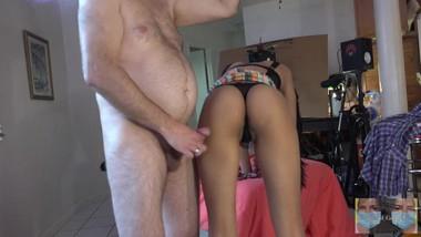 That ass looks so good in that leotard ^Assgrind-Intercrural^