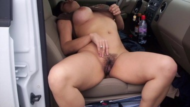 Mom Fingering In Car And I Masturbute Cum On Her Thigh Outdoor Risky Public